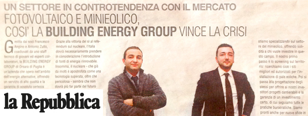 Building Energy - La Repubblica
